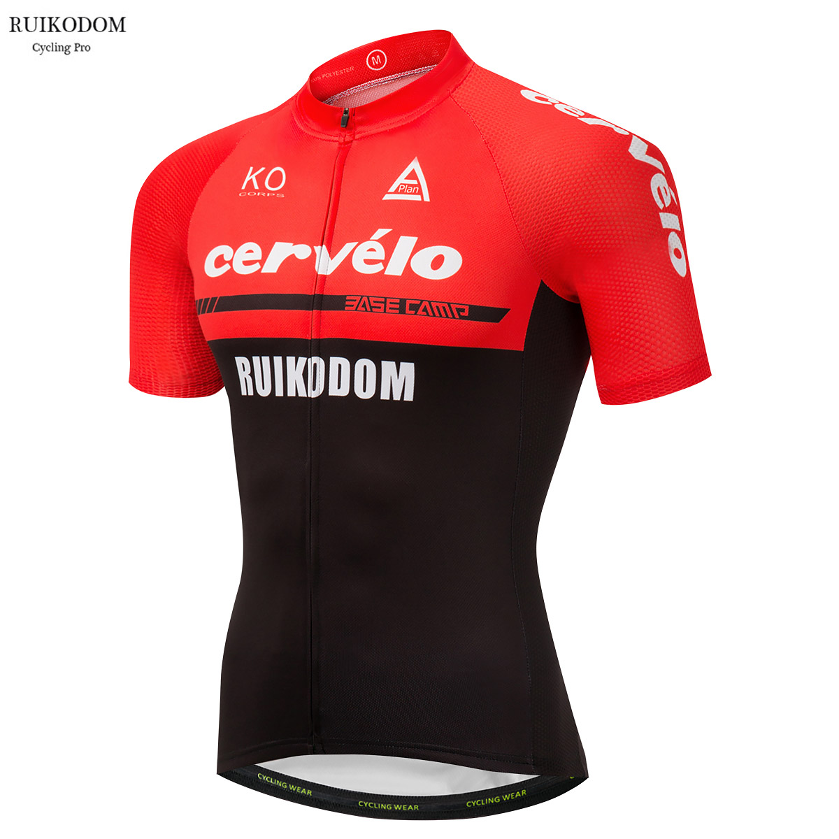 2018 Summer Cervelo Short Sleeve Red Team Cycling Jersey Bike Clothing Bycicle Pro Wear Tops 4D Ropa Ciclismo new team pro men cycling jersey ciclismo ropa bike jerseys set bycicle clothing short sleeve summer ciclismo maillot