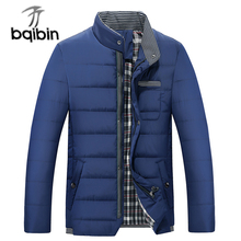 2017 Fashion New Men's Jackets And Coats Winter Parkas Men Outerwears Slim Fit Casual Stand Collar Male Jackets
