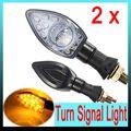 2Pcs 13 LED Universal Motorcycle Motorbike Turn Signal Indicator Light Lamo Amber