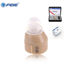 Best Selling on Aliexpress FEIE Ear Aide auditive mini Hearing Aid S-85 ear cleaner free shipping