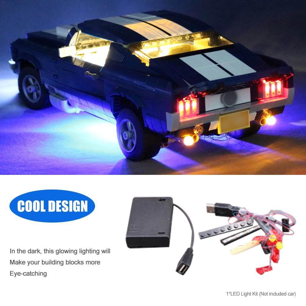 Light Kit for LEGO Ford Mustang 1960 Model 10265 Advanced Version Brick Shine