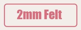 felt 2mm