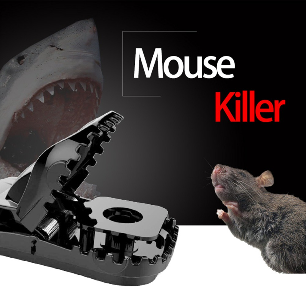 Reusable Plastic Rat Catching Mice Mouse Traps Mousetrap Bait Snap Spring Rodent Catcher Pest Control