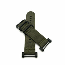 Green Black Ring For Suunto Core Series Traverse Watch Band Strap Nylon Zulu Watchband 24MM And Adapters And 2Pcs Screwdriver