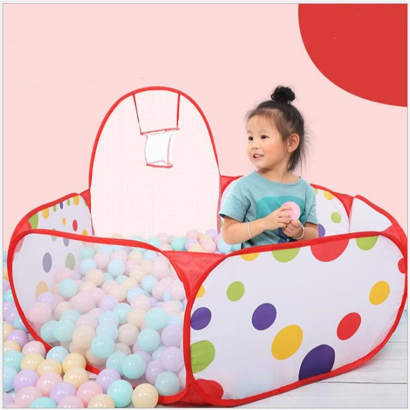 Plastic Ocean Ball Pit Pool Kids Game Play Tent Ball Pits