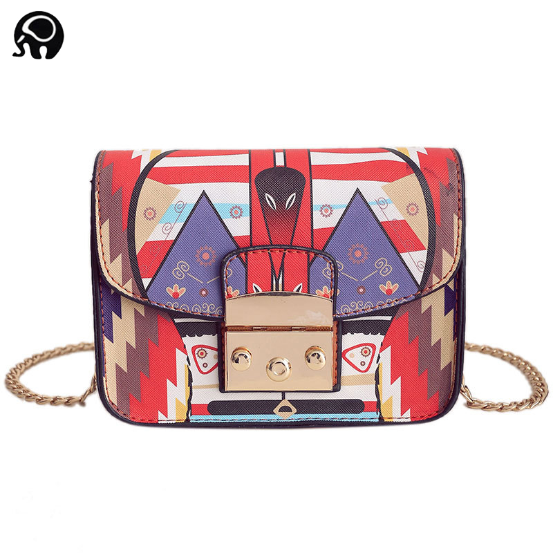 2018 Mini Owl Graffiti Handbag Famous Brand Designer Fula Bag Women Flap Chain Las Shoulder Crossbody Purses In Top Handle Bags From Luggage