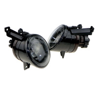 A Pair OEM 1T0 0941699C 1T0941700C 9006 Plug 12v 55 W Convex Lens Headlights At Night