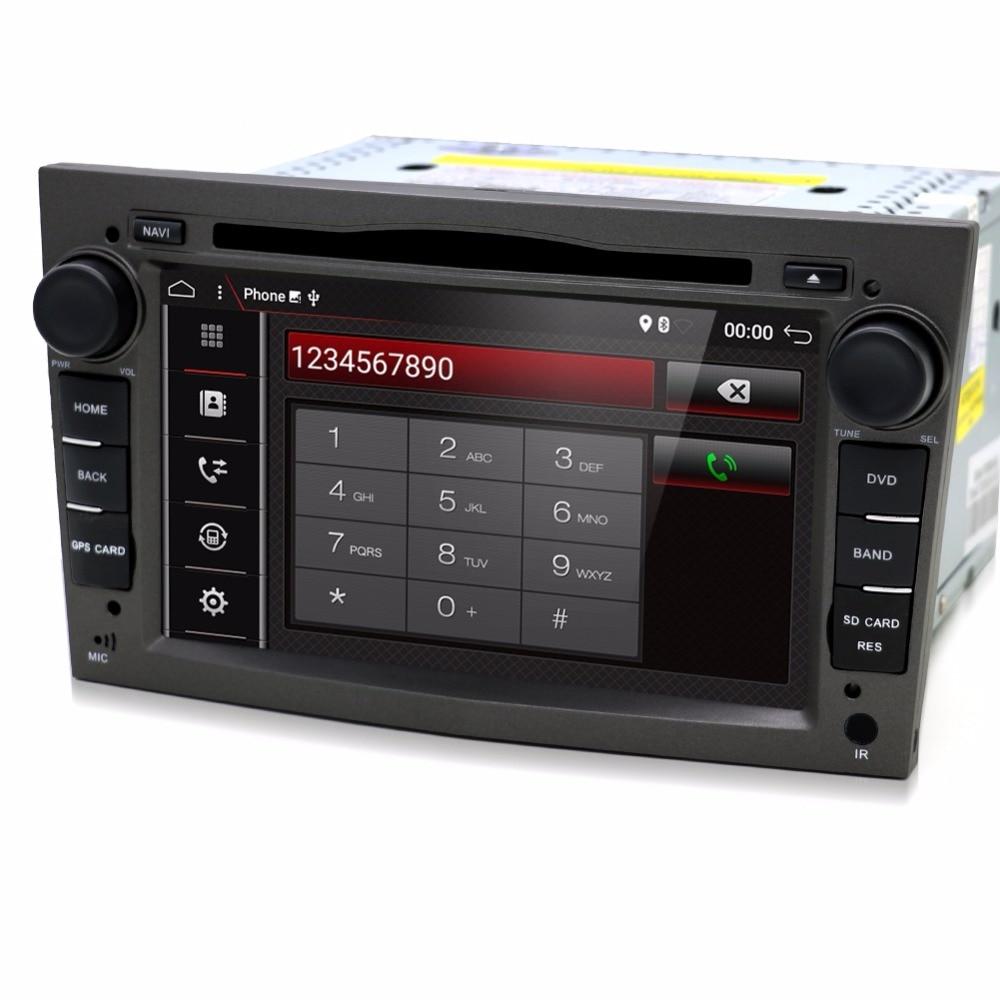 Android 7.1.1 2 DIN DVD GPS per Vauxhall Opel Astra H G J Vectra Antara Zafira corsa Multimedia dell'automobile dello schermo radio stereo audio 4g
