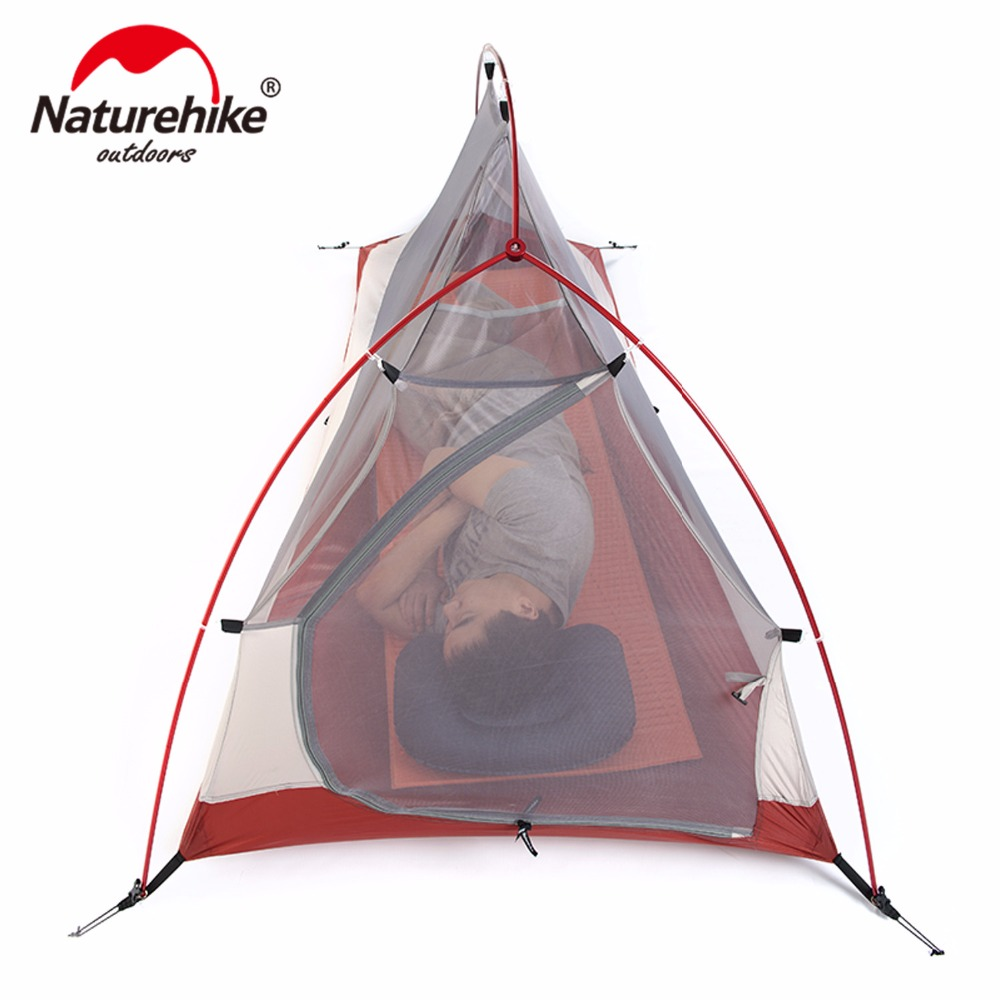 Naturehike CloudUp Series Ultralight Hiking Tent 20D/210T Fabric For 1 Person With Mat NH15T001 T-in Tents from Sports u0026 Entertainment on Aliexpress.com ...  sc 1 st  AliExpress.com & Naturehike CloudUp Series Ultralight Hiking Tent 20D/210T Fabric ...