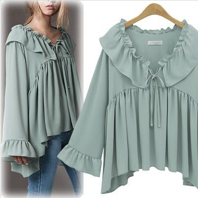 Online Get Cheap Women Mint Green Shirt -Aliexpress.com | Alibaba ...