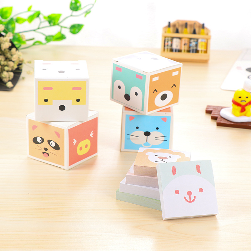 Kawaii Paper Sticky Memo Pad Leuke notitieblok Post Note Bookmark - Notitieblokken en schrijfblokken bedrukken - Foto 4