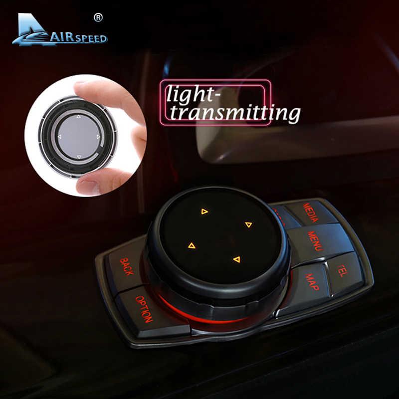 السرعة الجوية يدريفي سيارة الوسائط المتعددة أزرار غطاء M شعار ملصقات ل BMW E46 E39 E60 E36 F30 F10 X5 E35 E34 E30 F20 E92 E60 M5