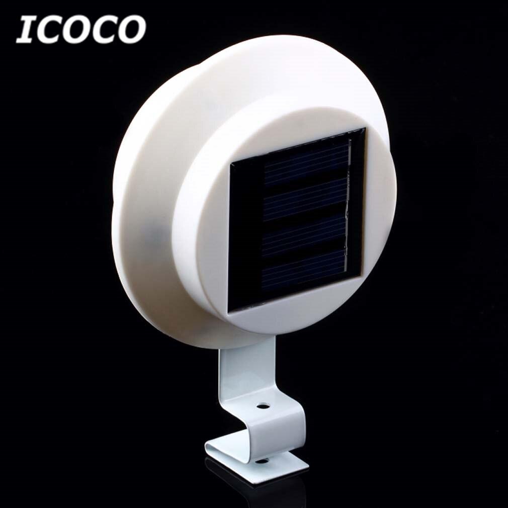Led Outdoor-wandlampe Icoco 3 Leds Solar Street Wall Lobby Pathway Lampe Garten Im Freien Sicherheit Spot Light Energy Speichern Waterrproof Ip55 Bequem Und Einfach Zu Tragen