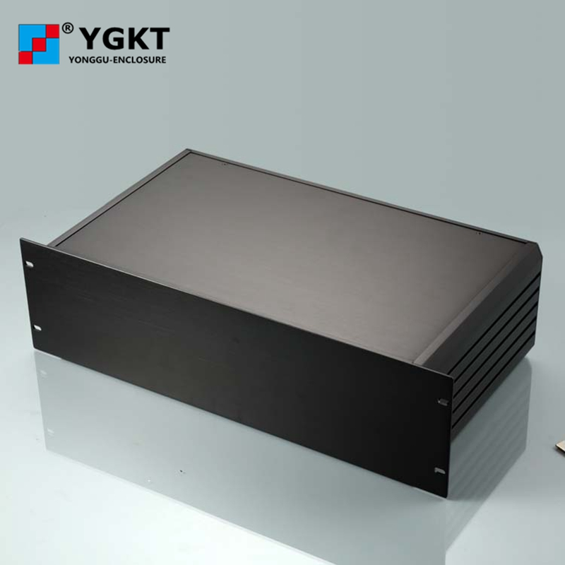 YGH-002 482*132-295/320 (wxhxd) 3u 19 inch rack mount chassis aluminum boxes electronics 482 133 4 295 250mm aluminum communication video aluminum frame chassis housing case with handle ygh 002 3u