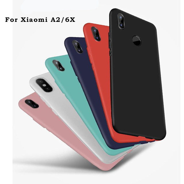 separation shoes acacf 4391f US $1.35 20% OFF|LEPHEE Case For Xiaomi Mi A1 A2 Mia1 Mi 5X 6X Mi5x Cover  Matte TPU Silicone Soft Back Phone Cover for Xiaomi Mi 5X 8 A1 A2 mi8-in ...