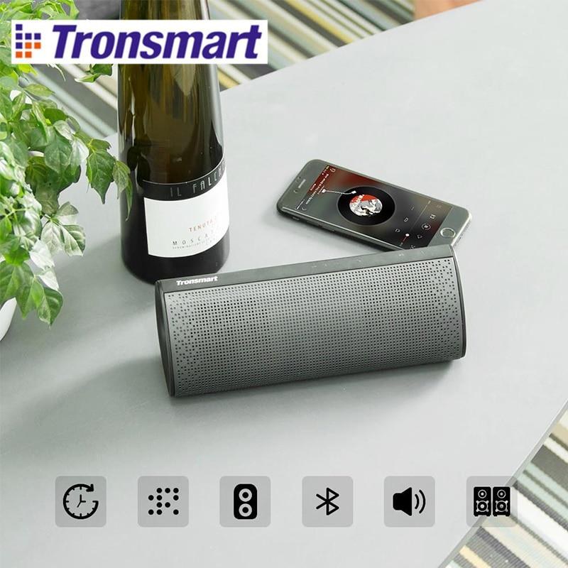 Tronsmart Element Pixie Double passive radiators 20W Bluetooth Speaker Super Bass Bluetooth 4.2 Powerful 15W output Supports TWS цена и фото