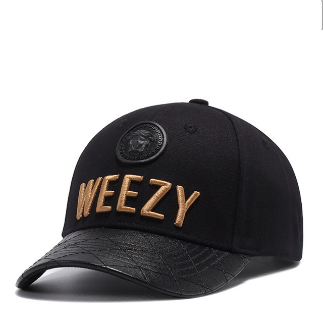 Wuke WEEZY Letter Embroidery Sports Outdoors Cap Hip Hop Casquette Fashion  Baseball Cap Gorras Fitted Snapback 0430ead15fb