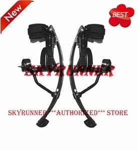 2018 Новое поступление скачок Stilt Skyrunner для взрослых Отрегулируйте подпрыгивание Stilts для мужчин обновленная версия сплав квадрат