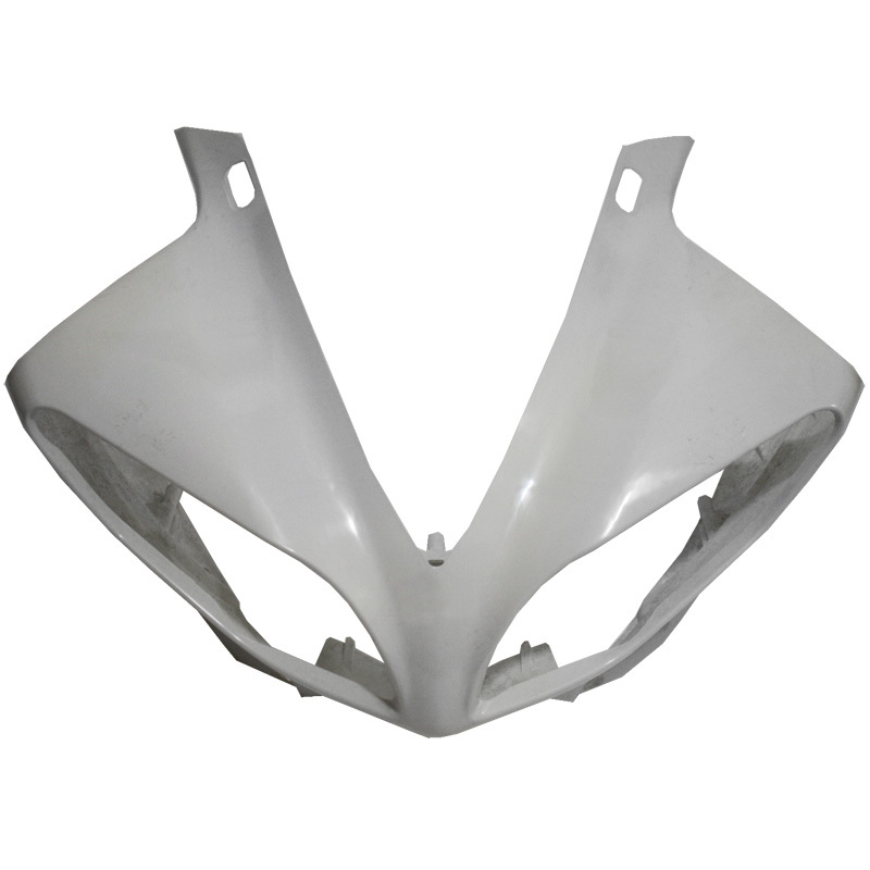 UPPER FRONT FAIRING COWL NOSE ABS Plastic FOR YAMAHA YZF R1 YZF-R1 2009-2011 10