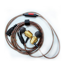 KZ GR Metal Retro Copper Gold Earphones Tunning Nozzles Dual Musical Styles Stereo Bass Noise Isolating HiFi Bests Studio Earbud