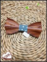 Spot Wholesale Christmas British Sole Wedding The Groom S Best Man Wooden Bow Tie Formal Tie