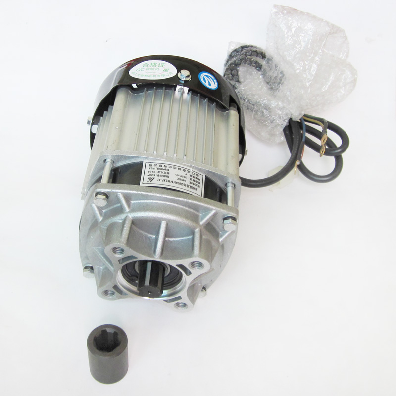 Brushless Motor 48V 500W Decelerating Motor for Electric Tricycle Scooter Unite Motor цена