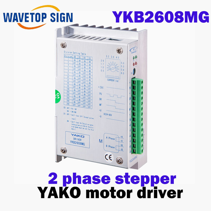 YKB2608MG YKB2608MH    Two phases stepping driver