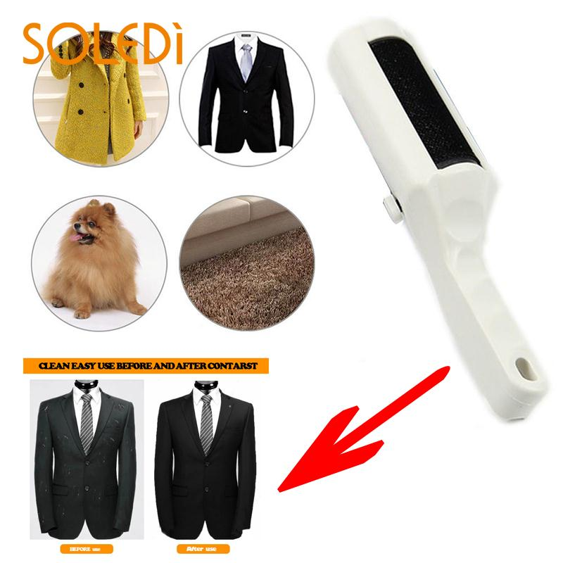 Electrostatic Static Cloth Lint Pets Hair Cleaner Remover Brush Sweeper