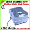 High Power 30Watts CDMA 850mhz 85dbi 45dbm cellular phone signal repeater booster amplifier Ship Tunnel Farm signal construction