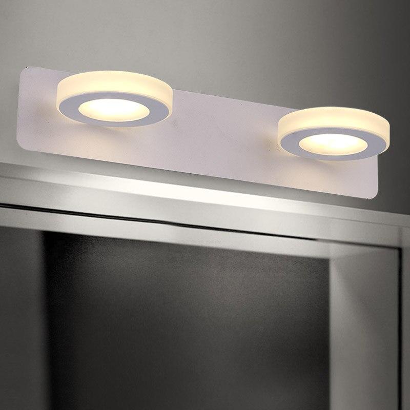 LED spiegel licht makeup wandlamp moderne minimalistische Dressoir ...