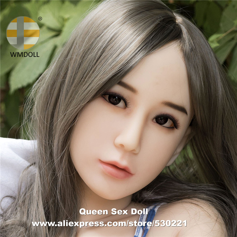 Top Quaity WMDOLL Head For Sexy Doll Silicone Love Dolls Heads With Oral Sex Can Fit Body From 140cm To 170cm top quality wmdoll 105 head for tpe sex doll love doll heads oral sexy toys can fit for 140cm 170cm body