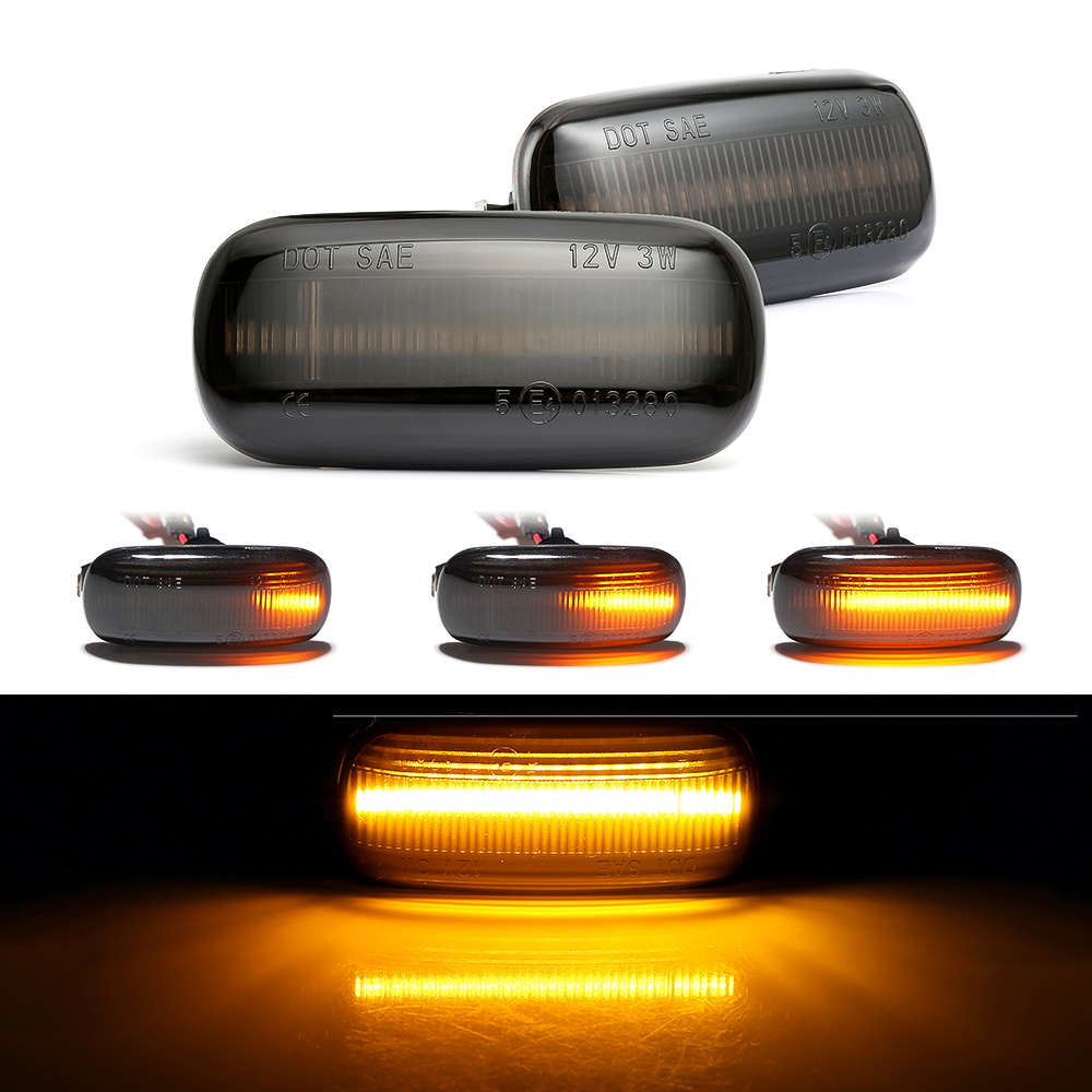 2 pieces Led Dynamic Side Marker Light Turn Signal Light Sequential Blinker Light For Audi A3 S3 8P A4 B6 B8 B7 S4 RS4 A6 S6 C5