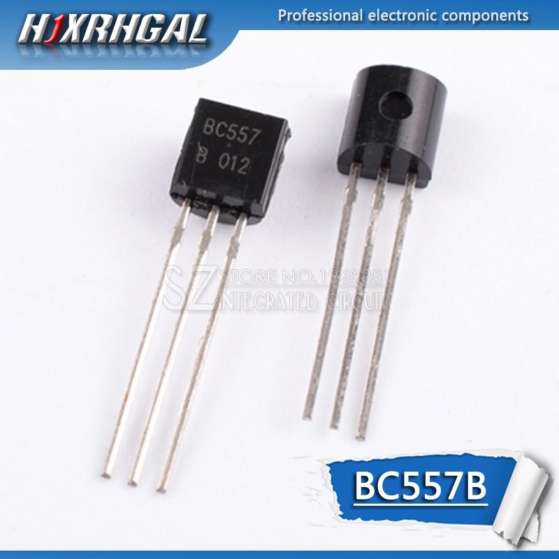 100pcs BC557B TO-92 BC557 TO92 557B triode transistor