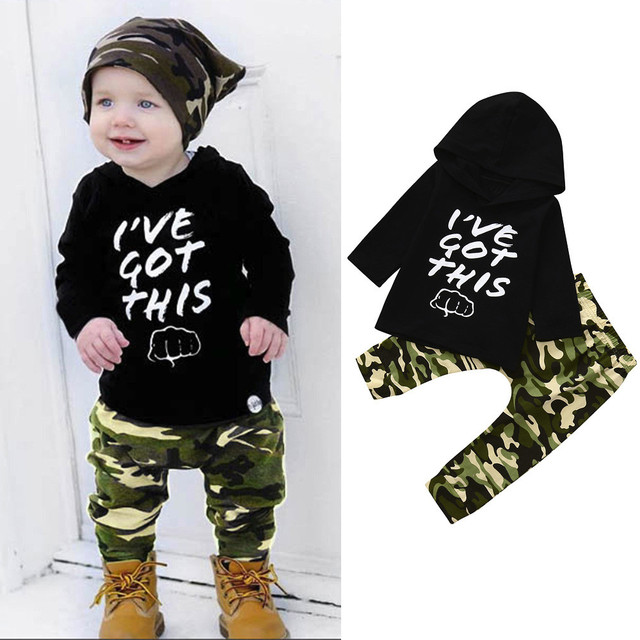 7fd97e95c9032 US $3.14 45% OFF|Baby boy Clothes Sets 2pcs Toddler Boys Hoodie Clothes  Camouflage Set Tops+Pants Outfits Fashion Kids Clothes Suit dropshipping-in  ...
