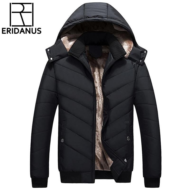 2017 New Winter Jacket Fashion Casual Loose Coat Warm Clothing Men Smen's Coat Winter Brand Man Clothes Casacos Size 4XL X581