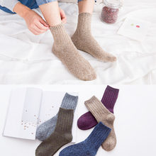 New autumn/winter mens socks - tube warm wool wicking sweat and deodorizing business