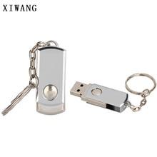 usb flash drive metal Key chain usb 2.0 pen drive 4gb 8gb 16gb 32gb 64gb Silver bracelet usb flash 128GB memory stick Free logo
