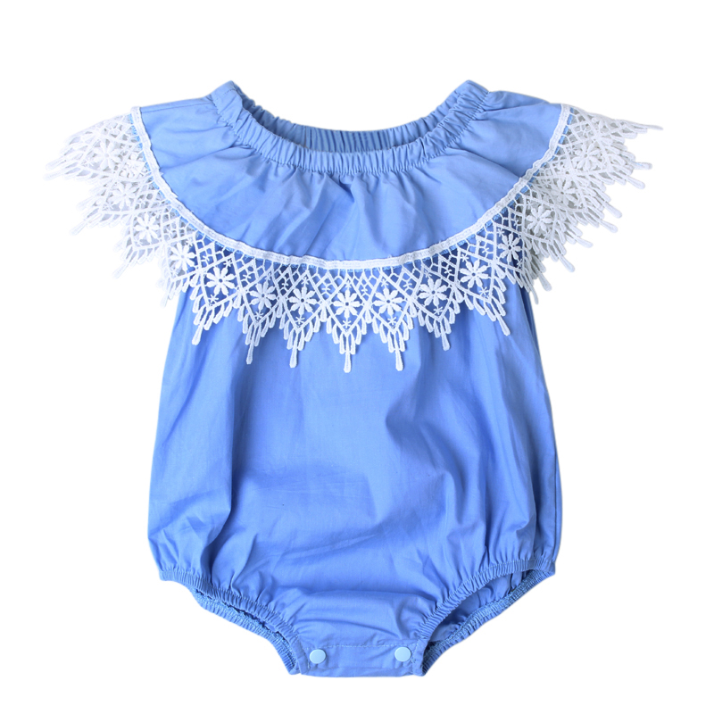 3a2ff8996 Cute Baby Clothes Top Quality Newborn Baby Lace Rompers Toddler Girls  Jumpsuit Birthday Outfit DS40-in Rompers from Mother & Kids on  Aliexpress.com ...