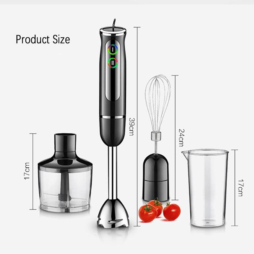 220v Multi Function Food Blender Immersion Hand Blender For Kitchen