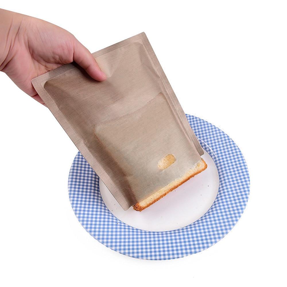 Высокая Температура выпечки волокна мешок антипригарным тефлоновым мешок хлеба сэндвич мешки для выпечки устойчивостью легко моется Кухн...
