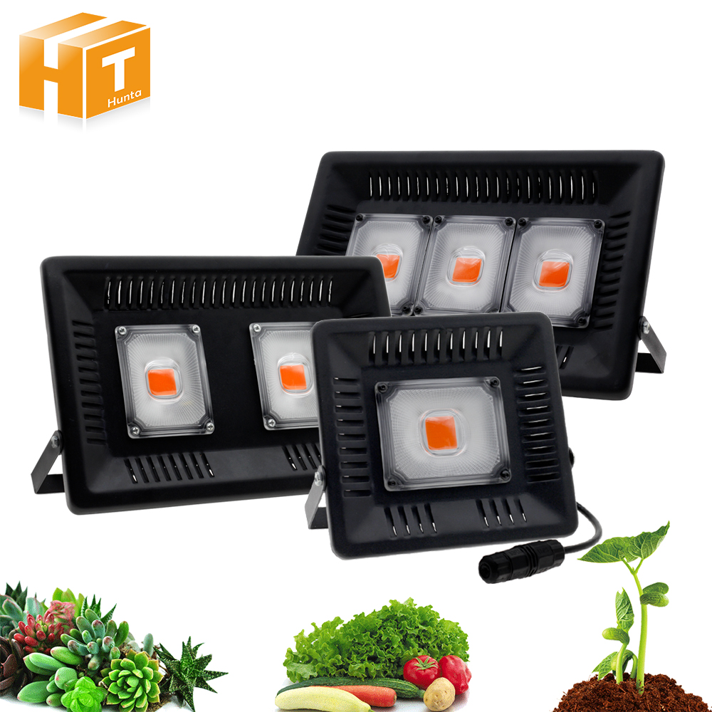 ¿LED mazorca de luz de espectro completo IP67 impermeable 50 W 100 W 150 W crecer LED para crecer tienda o Otdoor el crecimiento de las plantas?