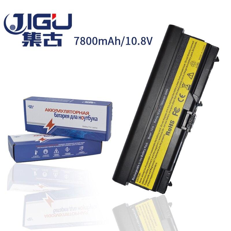 JIGU Laptop Battery For Lenovo For ThinkPad L421 L510 L512 L520 SL410 SL410k SL510 T410 T410i T420 T510 T510i T520 T520i W510 jigu new battery l11l6y01 l11s6y01 for lenovo y480p y580nt g485a g410 y480a y480 y580 g480 g485g z380 y480m