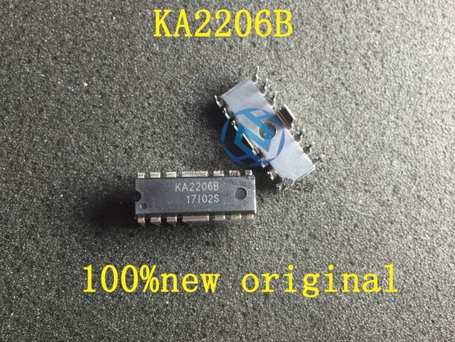 100%NEW 100PCS KA2206B KA2206 HDIP12