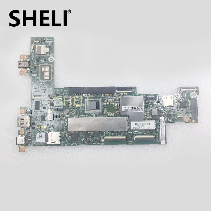 SHELI pour Lenovo ThinkPad X1 CPU M3-6Y30 tablette 4 GB Wifi yTPM carte mère 00NY787