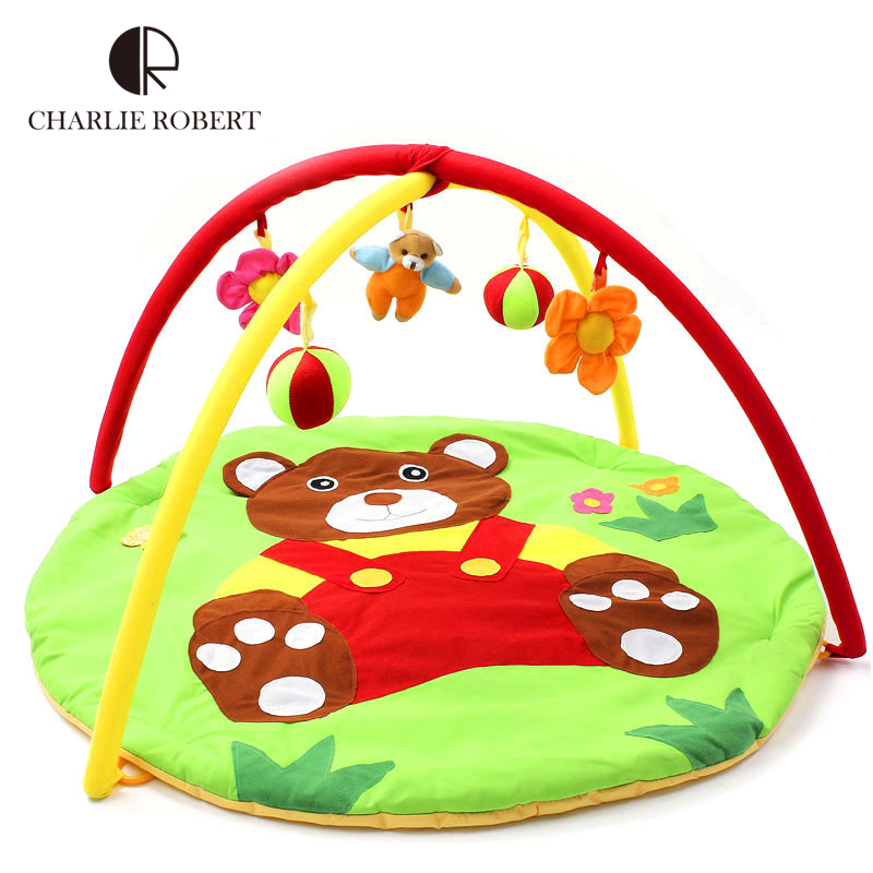 Bear Baby Toy Baby Play Mat 0 1 Year Game Tapete Infantil Educational Crawling Mat Play