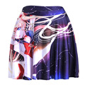 Summer style New 2016 sexy Women's fashion Beauty Beast romance SKATER SKIRTS-LIMITED Digital Print Ladies Fairy tales SKIRTS