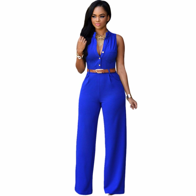Orcfly-White-Summer-Jumpsuit-Monos-Mujer-Largos-2016-Plus-Size-Romper-Casual-Belted-Wide-Leg-Jumpsuit (1)