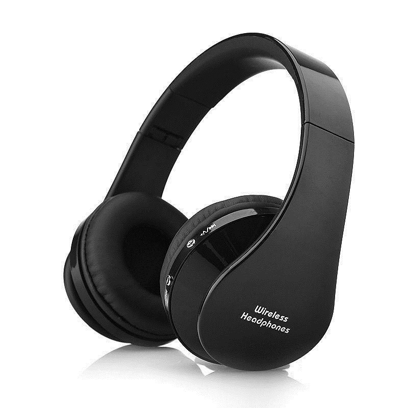 Original Wireless/Wired Bluetooth Foldable Headset Stereo Bass Headphones with Microphone Headset Gaming for Cell Phone Laptop magift bluetooth headphones wireless wired headset with microphone for sports mobile phone laptop free russia local delivery hot