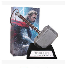 Thor Film 1 1 Model Hammer marvel superhero action figures The Avengers toys for children kids