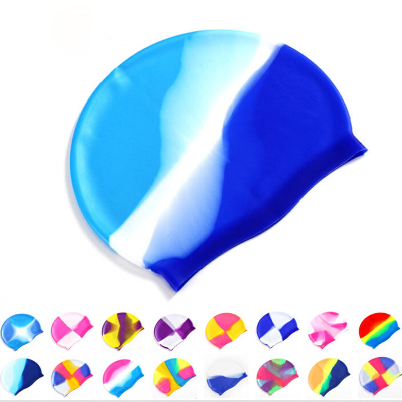 12 Colors Swimming Cap Adult